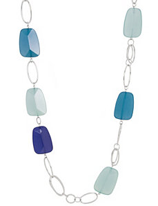 Long faceted bead necklace by Lane Bryant by Lane Bryant
