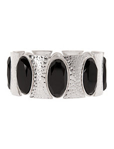 Oval stone stretch bracelet by Lane Bryant