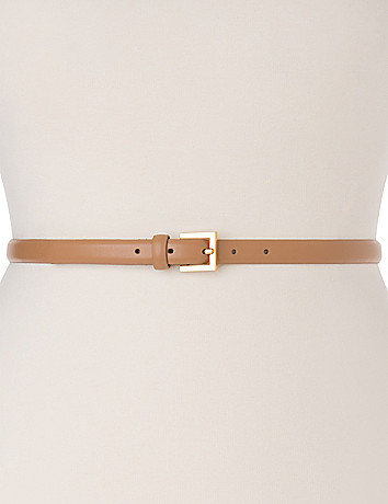 Smooth Skinny Belt by Lane Bryant