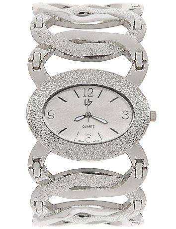Lane Collection oval link watch