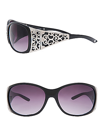 Scroll Temple Sunglasses by Lane Bryant