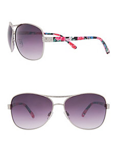 Quilted Aviator Sunglasses by Lane Bryant