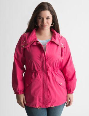Cinched waist jacket