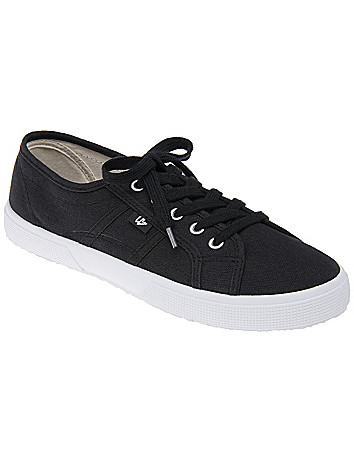 LB Kicks Wide Width Canvas Sneaker by Lane Bryant