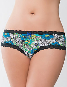 Plus Size Tropical Cheeky Panty by Cacique