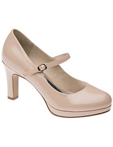 Mary Jane pump by Lane Bryant