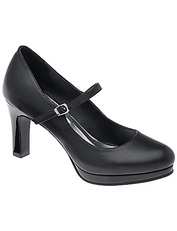 Wide Width Mary Jane Pump by Lane Bryant