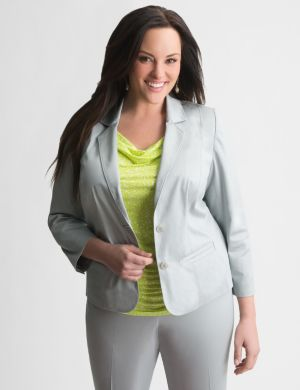 Sateen suit jacket