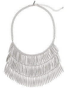 Layered spike statement necklace by Lane Bryant
