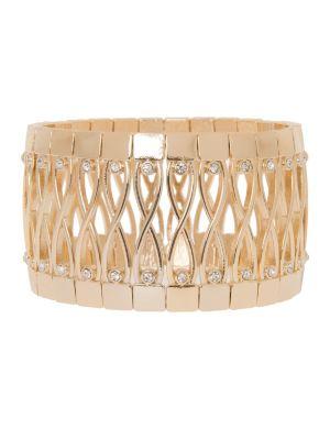 Cross link stretch bracelet by Lane Bryant