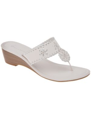 Embellished slide wedge