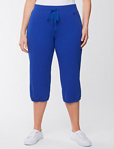 Plus Size Elastic Cuff Knit Capri by Lane Bryant