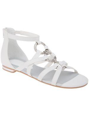 Ring front gladiator sandals