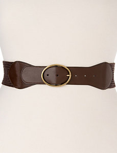 Woven stretch belt by Lane Bryant