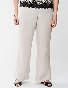 Relaxed linen pant by Lane Bryant