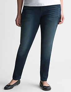 Ultimate Stretch sateen skinny jean by Lane Bryant