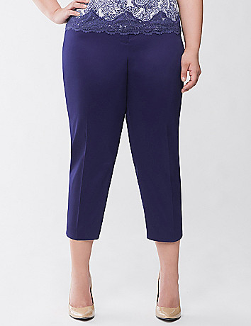 Sateen capri by Lane Bryant