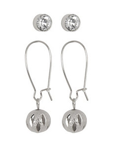Stud & Ball Earring Duo by Lane Bryant