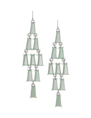 Linear chandelier earrings by Lane Bryant