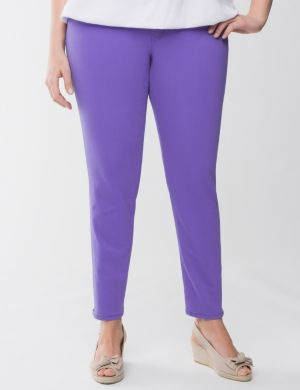Genius Fit casual zipped ankle pant