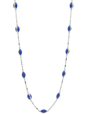 Bar & bead necklace by Lane Bryant