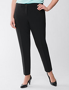 Lane Collection scuba ankle pant by Lane Bryant