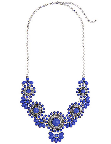 Aztec floral necklace by Lane Bryant