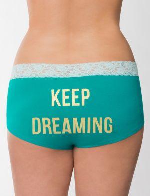 Keep Dreaming cotton boyshort