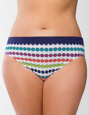 Sassy cotton printed hipster panty