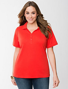 Polo shirt by Lane Bryant