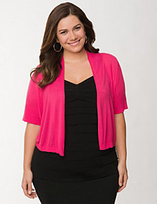Short sleeve shrug