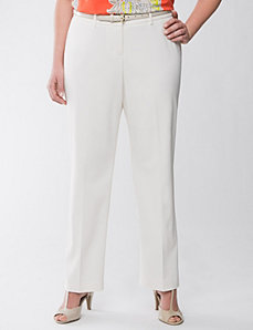 Lane Collection straight leg pant by Lane Bryant