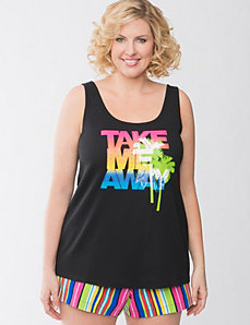 Take Me Away sleep tank by Cacique