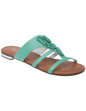 Stone front sandal