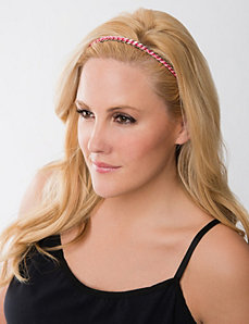 Chain link headwrap by Lane Bryant