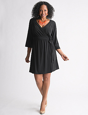 Wrap Dress by Lane Bryant