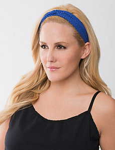 Studded chiffon headwrap by Lane Bryant