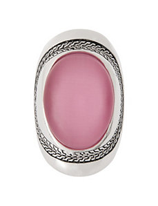 Oval cat eye ring by Lane Bryant