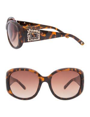 Temple medallion sunglasses