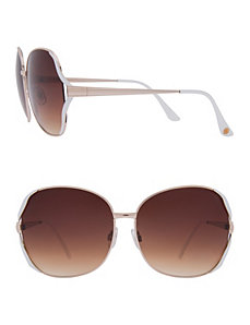 Color accent sunglasses by Lane Bryant