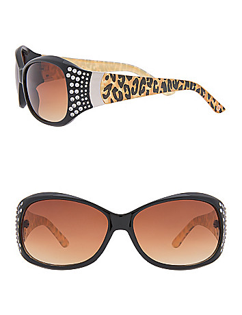Animal print sunglasses by Lane Bryant