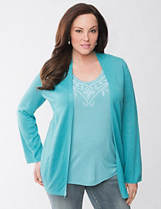 Lane Collection cozy cardigan by Lane Bryant