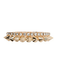 Spike & Rhinestone Bracelet by Lane Bryant