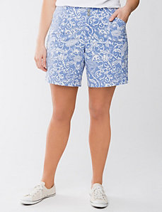 Printed short by Lane Bryant