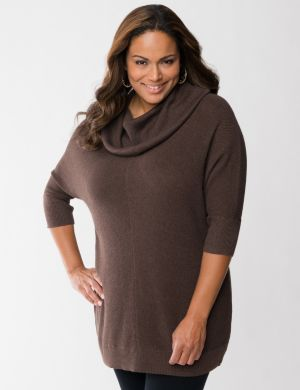 Cozy Cowl sweater tunic