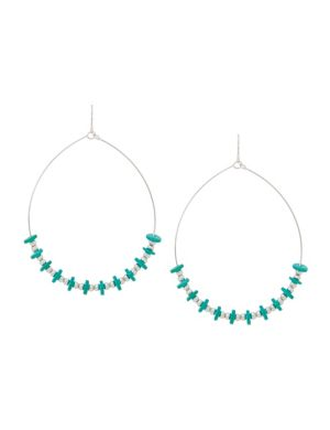 Wire hoop earrings by Lane Bryant