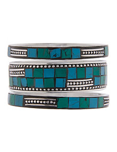 Aztec mosaic bracelet set by Lane Bryant by LANE BRYANT