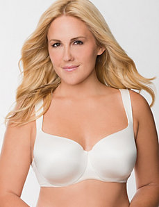 Modern balconette bra by LANE BRYANT