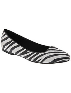Animal print smoking slipper