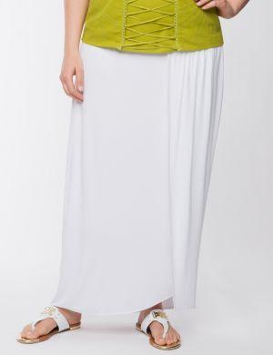Lane Collection Grecian wrap skirt